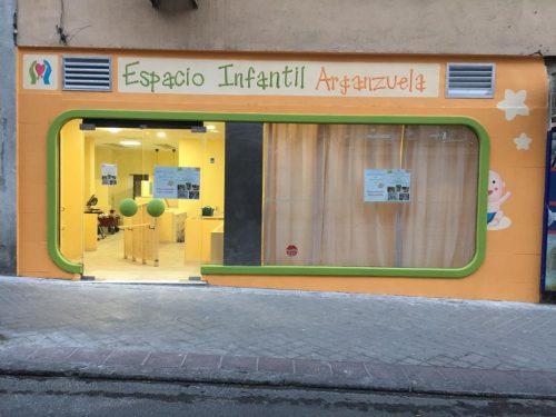 Fachada del Espacio Infantil Arganzuela