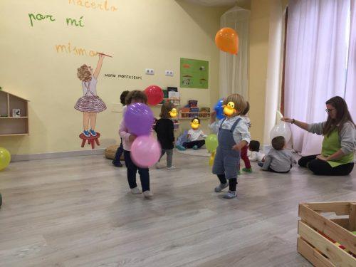 Cuidado de niños. Guardería privada en Arganzuela